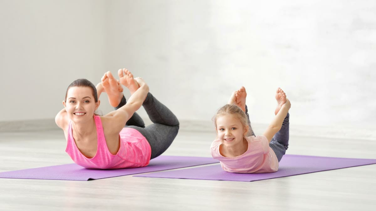 mom kid yoga teacher training